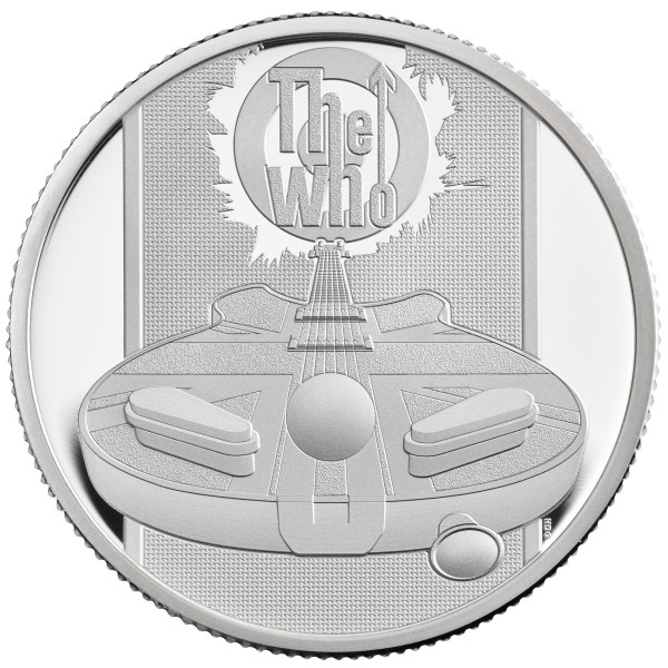 The Who - Music Legends - 1/2 Unze Silber Proof 1 £ United Kingdom 2021