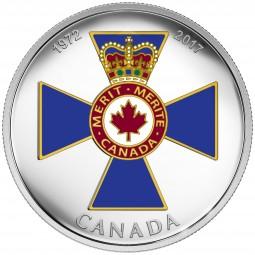 1 Oz Silber Proof Canadian Honours : Order of Military Merit 20 CAD Kanada 2017 Canada