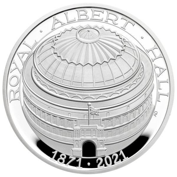Royal Albert Hall - The 150th Anniversary - Silver Proof 5 £ United Kingdom 2021