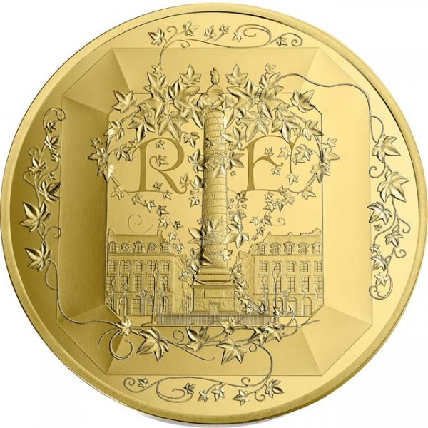 50 Euro 1/4 Unze Gold Proof French Exellence Boucheron Frankreich 2018