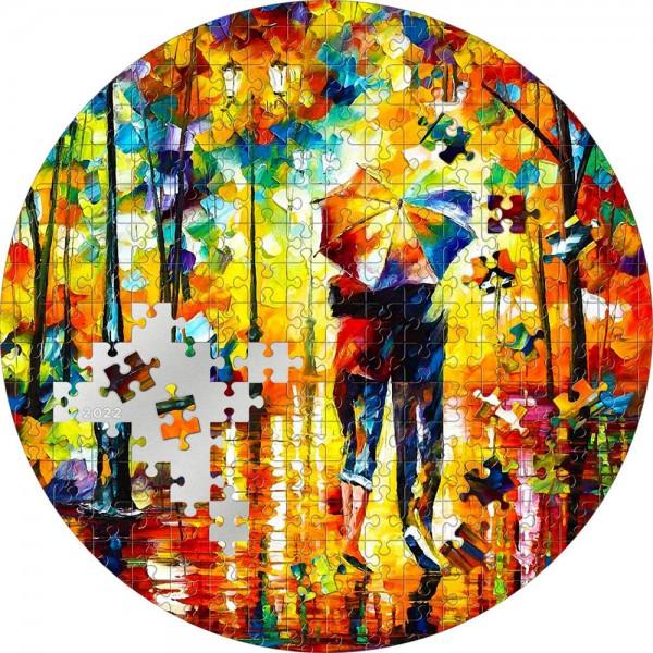3 Unzen Silber Proof Couple under one Umbrella Micropuzzle Treasures Passion 20$ Palau 2022