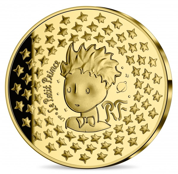 1 Ounce Gold Proof The little Prince 200 Euro France 2021