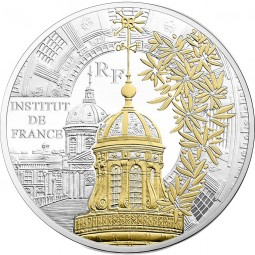 10 Euro Silber Proof Paris' Treasures Institut de France Frankreich 2016