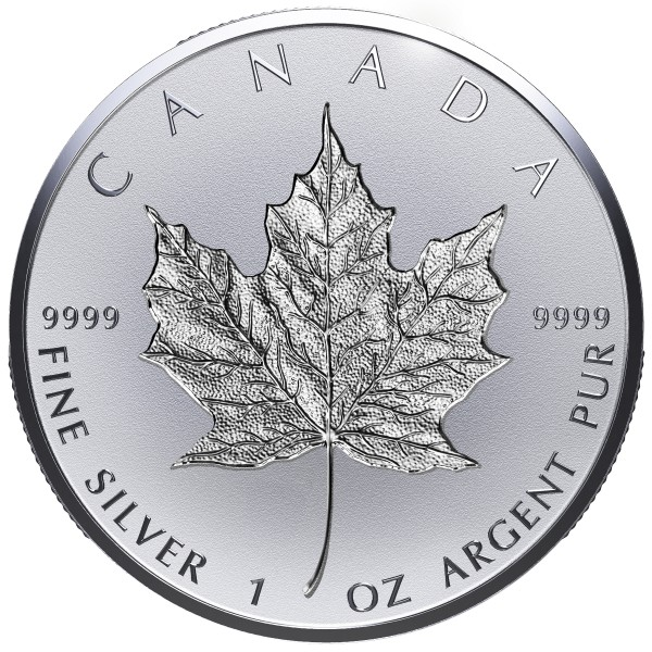 20 Dollar Silver Reverse Proof 30th Anniversary of the Silver Maple Leaf Canada 2018