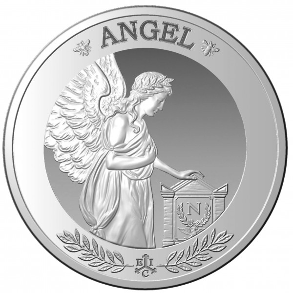 Angel - Collection 1 Ounce Silver Proof 1 £ St.Helena 2021
