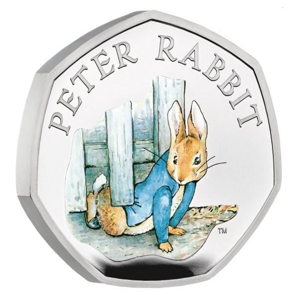 50 Pence Silber Proof Beatrix Potter - Peter Rabbit™ United Kingdom 2020 Royal Mint