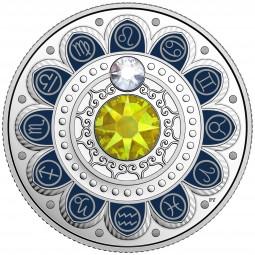 3 CAD Silber Proof Zodiac / Sternzeichen: Lion / Löwe Kanada 2017 Canada