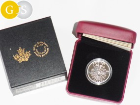 3 Dollar Silber Proof 1/4 Oz Animal Architects: Spider and Web Canada Kanada 2014 Spinne