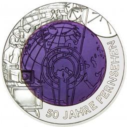 25 Euro Silber Niob HgH 50 Jahre Fernsehen Österreich 2005