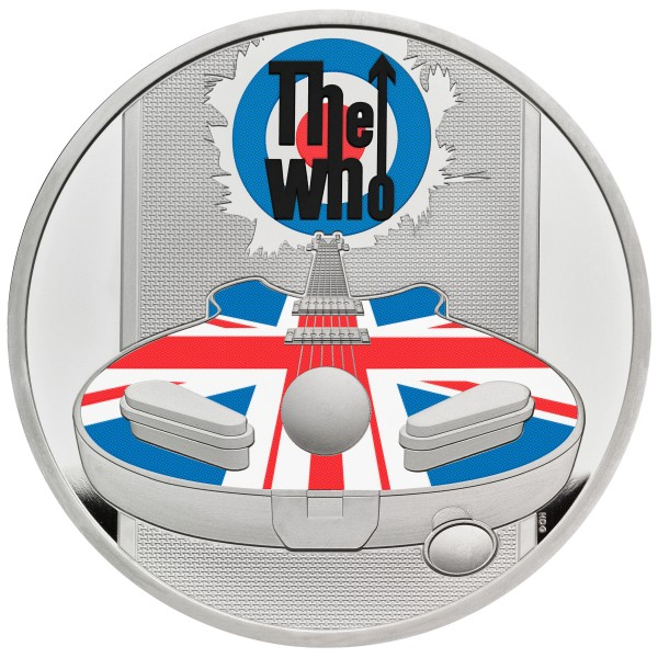 The Who - Music Legends - 1 Ounce Silver Proof 2 £ United Kingdom 2021