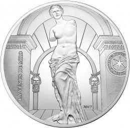 10 Euro Silber Proof Venus von Milo Frankreich France 2017