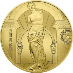 200 Euro 1 Unze Gold Proof Venus von Milo Frankreich France 2017