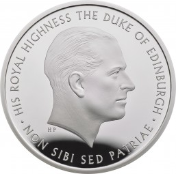 5 £ Pfund Silber Proof Prince Philip Celebrating a Life of Service United Kingdom 2017 Royal Mint