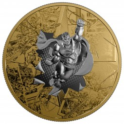 3 Oz Silber Proof DC Comics Superman Brave and the bold 50 CAD Kanada 2017 Canada