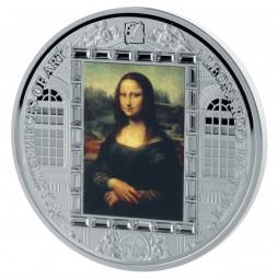 20$ Cook Islands 3 Oz Silber Proof Masterpieces of Art Leonardo da Vinci - Mona Lisa 2016
