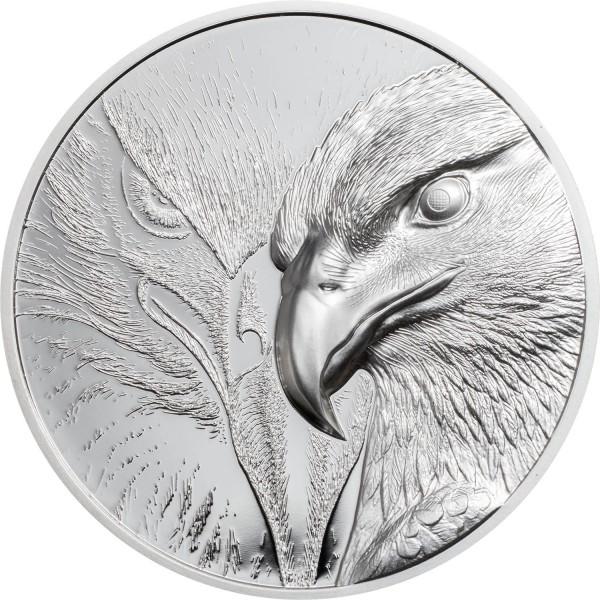 Majestic Eagle 1 Unze Silber Proof Mongolei 2020