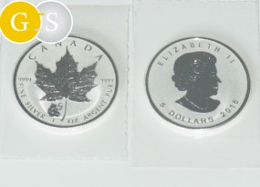 5 Dollar Silber 1 Unze Maple Leaf Privy Panda Kanada 2016