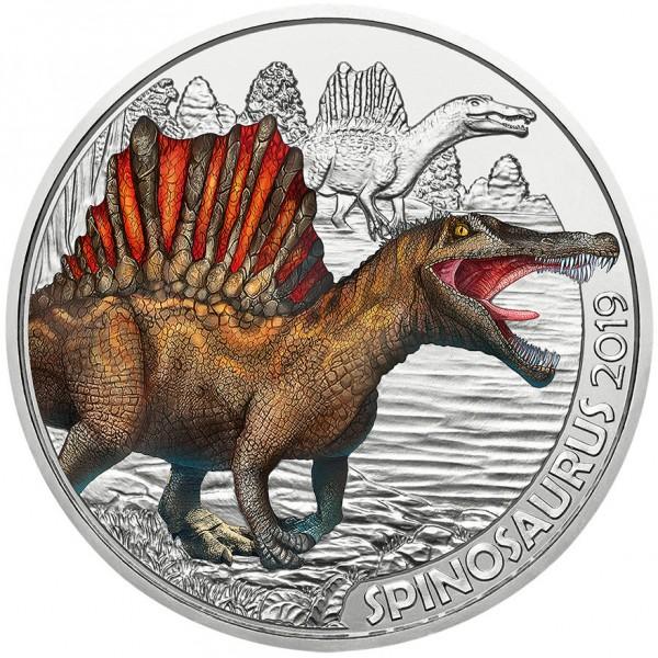 3 Euro Dino Taler hgh Spinosaurus - Super Saurier Österreich 2019