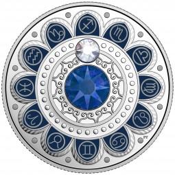 3 CAD Silber Proof Zodiac / Sternzeichen: Sagittarius / Schütze Kanada 2017 Canada