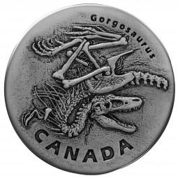 20 Dollar Silber Antique Ancient Canada : Gorgosaurus Kanada 2018