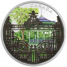 2 Oz Silber Proof Gates of Canada - Halifax Public Garden s 30 CAD Kanada 2018