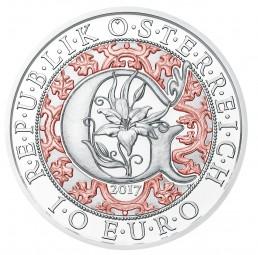 10 Euro Silber Proof Erzengel Gabriel - Der Verkündigungsengel - Himmlische Boten Österreich 2017