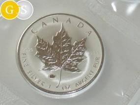 5 Dollar Silber 1 Unze Maple Leaf Privy Ochse Kanada 2009