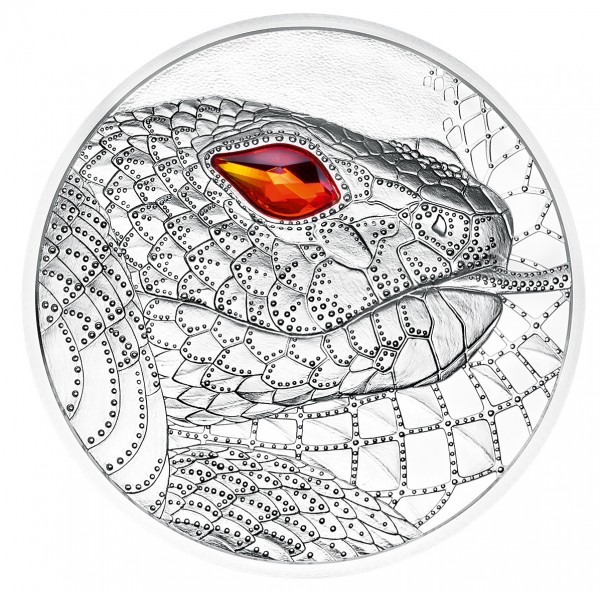20 Euro Silver Proof Eyes of the World - Australia - The serpent Creator Austria 2021