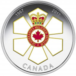 1 Oz Silber Proof Canadian Honours : 50th Anniversary of the order of Canada 20 CAD Kanada 2017