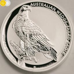 1 Unze Silber BU Australian Wedge Tailed Eagle Australien 2016 Australia
